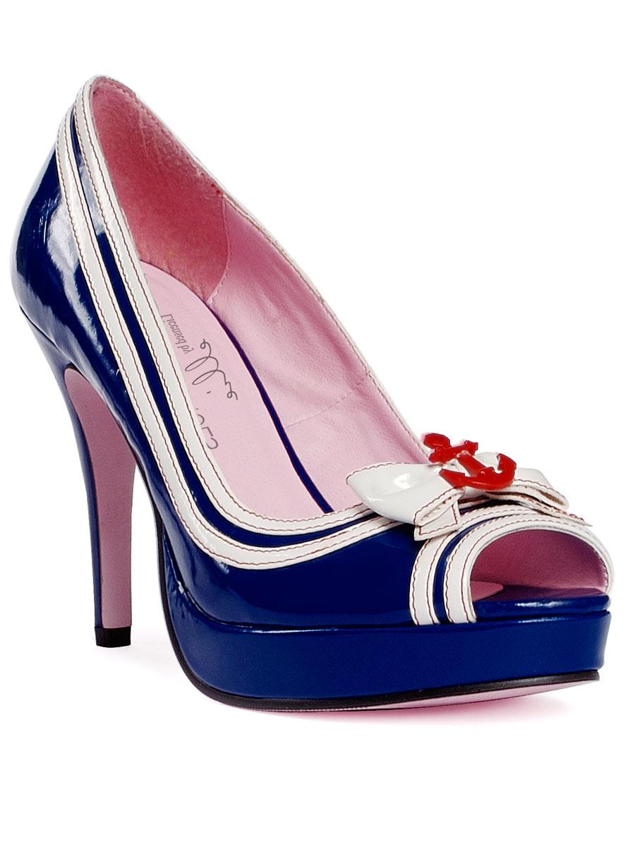 Chaussures pour femmes Bleu chaussures sexy Sailor meziane