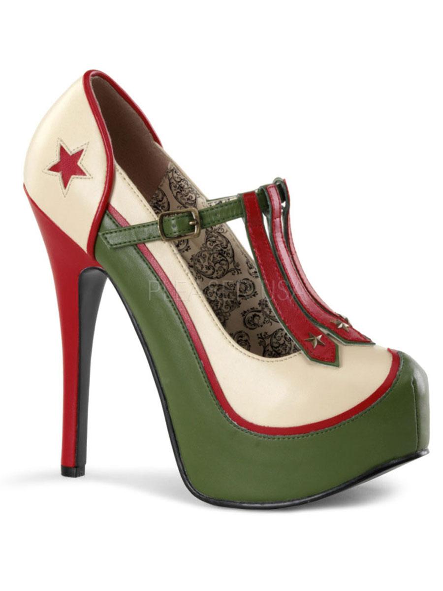 Chaussures pour femmes Armée de femmes chaussures