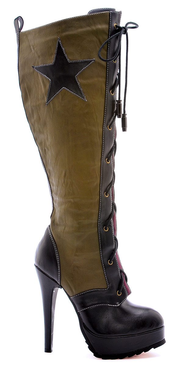 Chaussures pour femmes Milice Boot Knee High