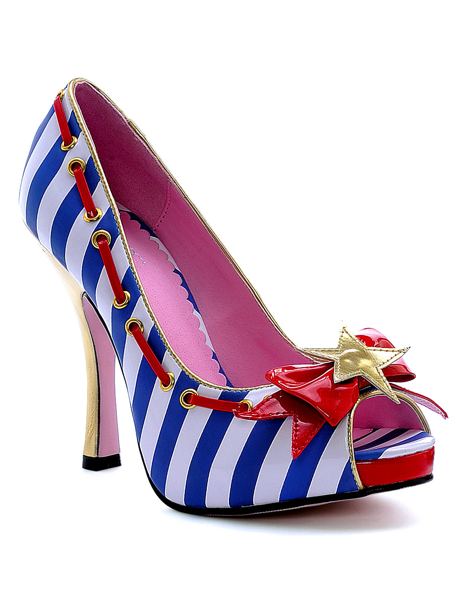 Chaussures pour femmes Marina Peep Toe marin chaussure