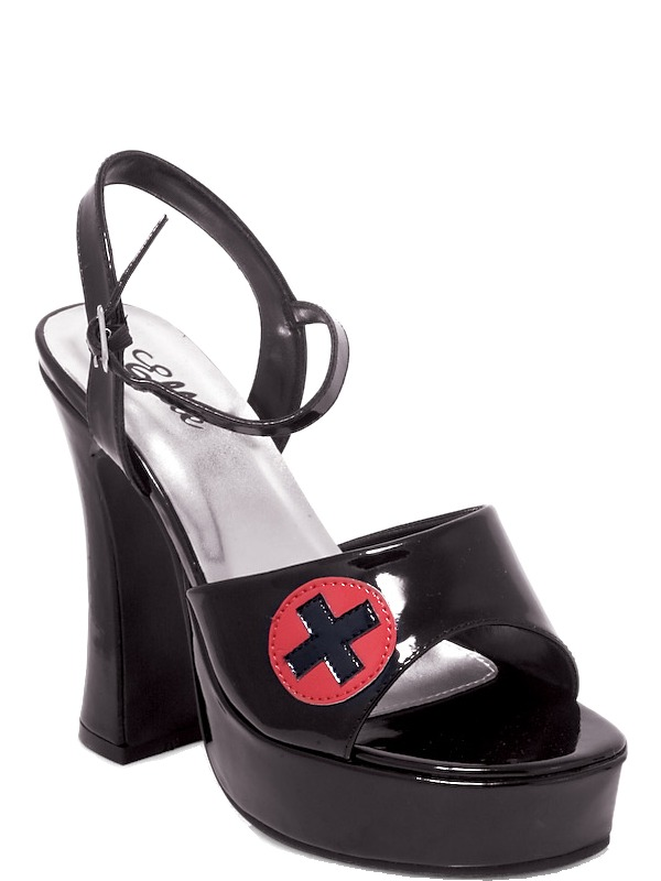 Chaussures pour femmes Infirmière chaussure noir