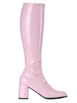 Bottes gogo bébé rose Chaussures pour femmes