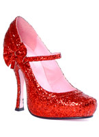 Chaussure Mary Jane Glitter Chaussures pour femmes