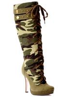Bottes de l'armée Mesdames Chaussures pour femmes