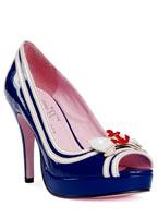 Bleu chaussures sexy Sailor meziane Chaussures pour femmes