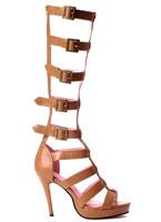 Genou haut sandales de gladiateur Mesdames Chaussures pour femmes