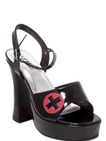 Infirmière chaussure noir Chaussures pour femmes