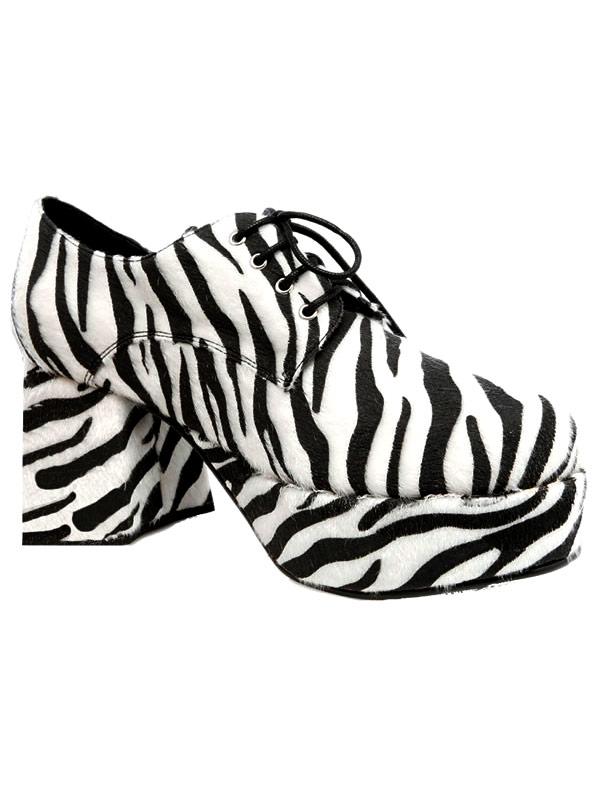 Chaussures pour hommes Pimp chaussures hommes Zebra