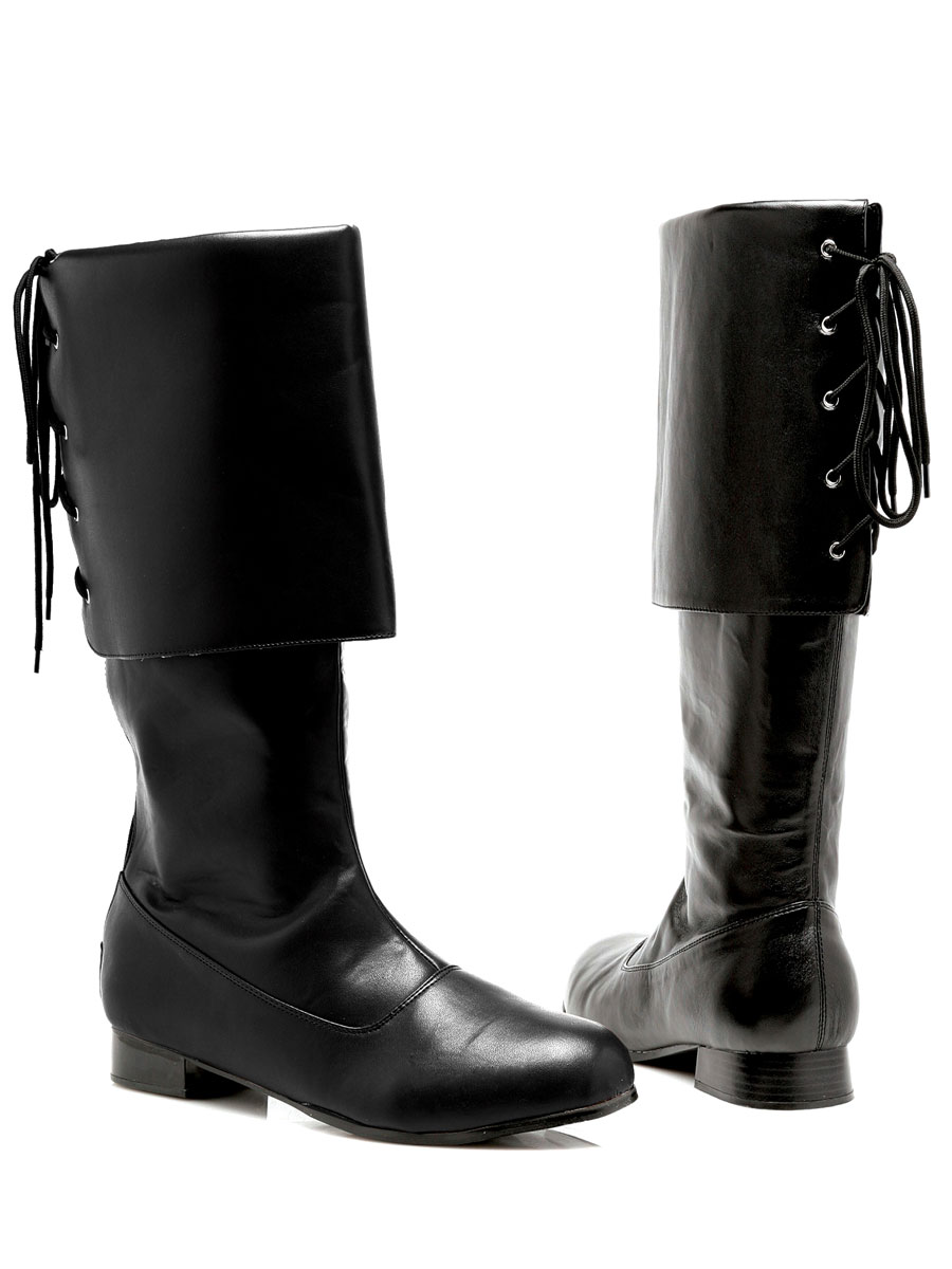 Chaussures pour hommes Mens Black Pirate Boots