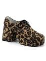 Chaussures pour hommes Imprimé léopard mâle Disco 70 ' s