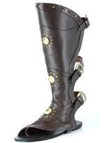 Genou mâle haute Gladiator Sandals Chaussures pour hommes