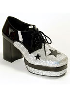 Glam Rock plate-forme chaussures Chaussures pour hommes