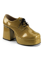 Chaussures homme Disco or Chaussures pour hommes