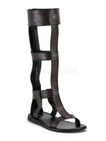 Sandale gladiateur romain pour hommes Chaussures pour hommes