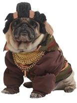 Monsieur T chien Costume Animaux de compagnie