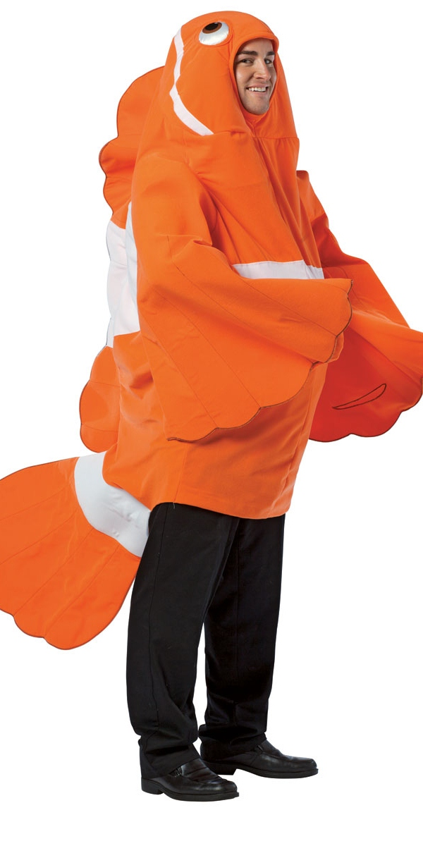 Animaux Costume Adulte Costume de clown poisson