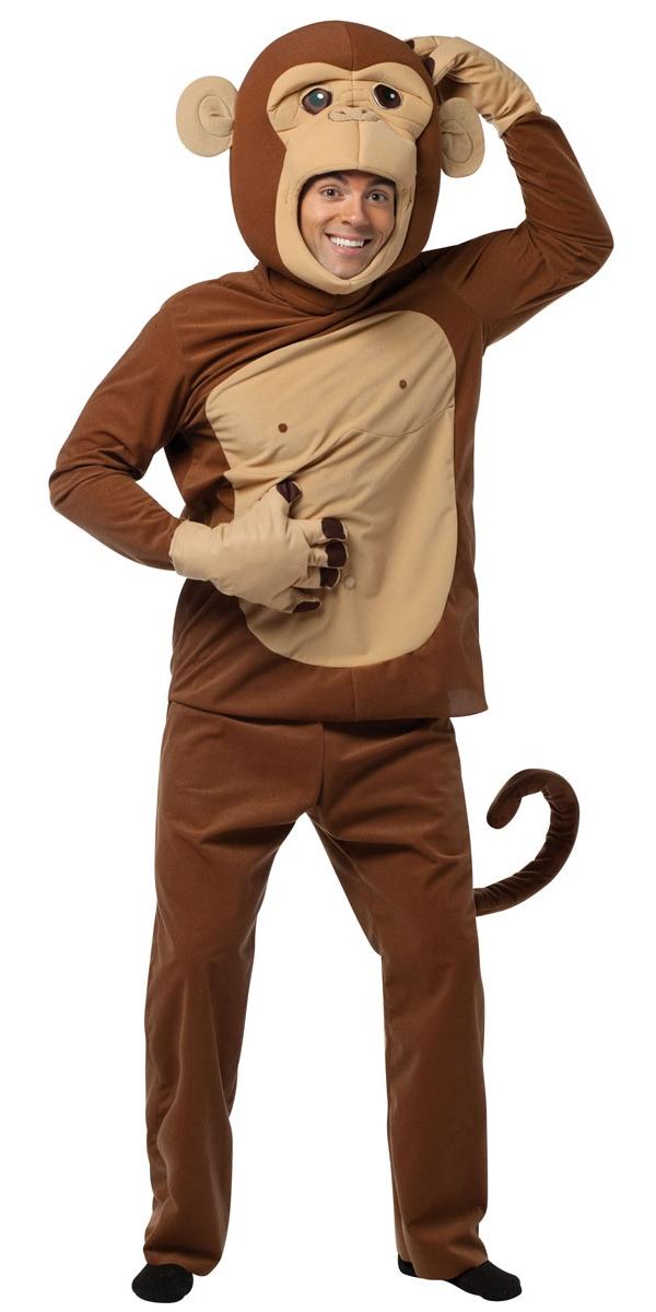 Animaux Costume Adulte Singeries autour de Costume