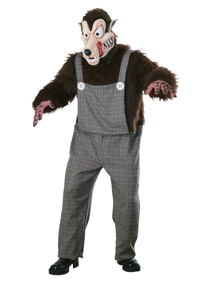 Animaux Costume Adulte Costume de Wolfie de mauvaises nouvelles
