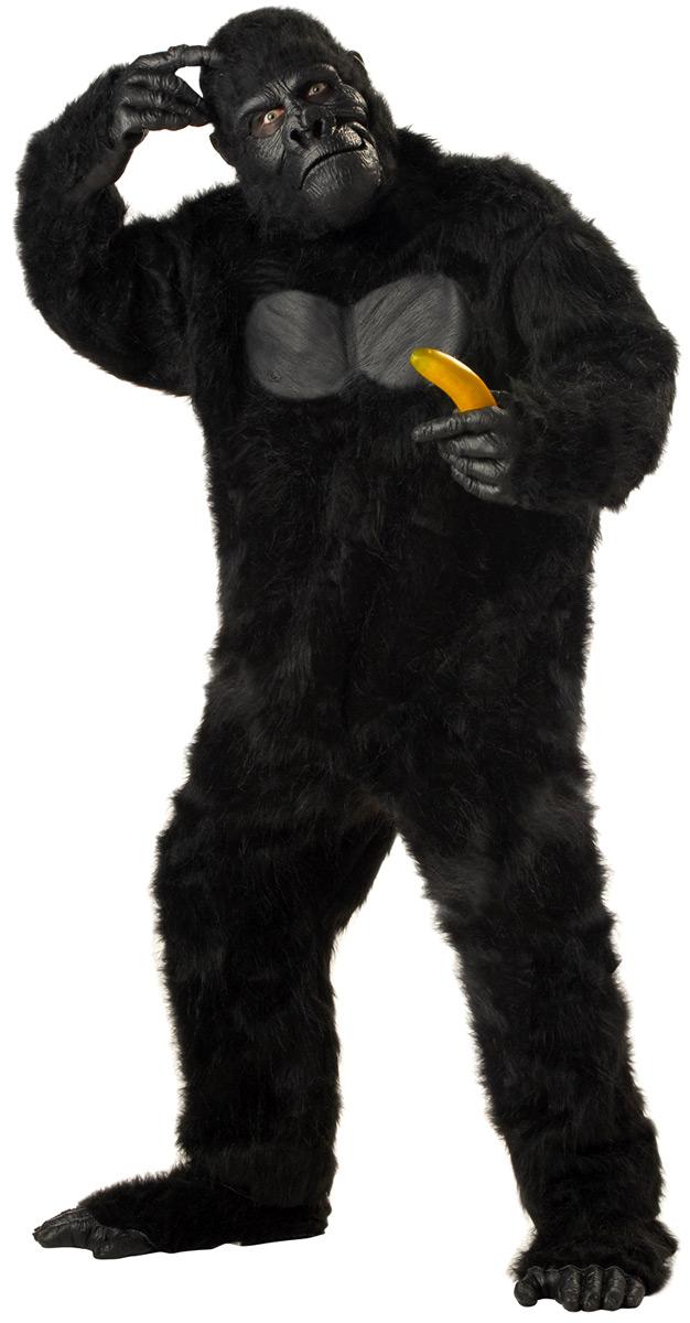 costume de gorille animaux costume adulte costume animaux 01 02 2019. Black Bedroom Furniture Sets. Home Design Ideas