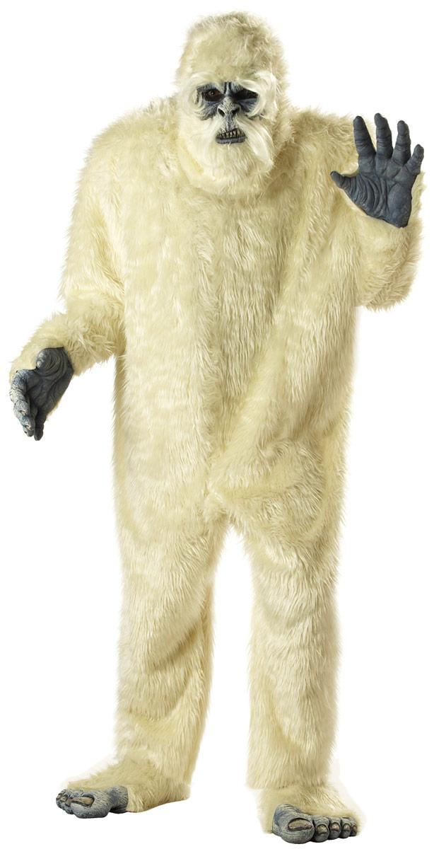 Animaux Costume Adulte Costume de l'abominable homme des neiges