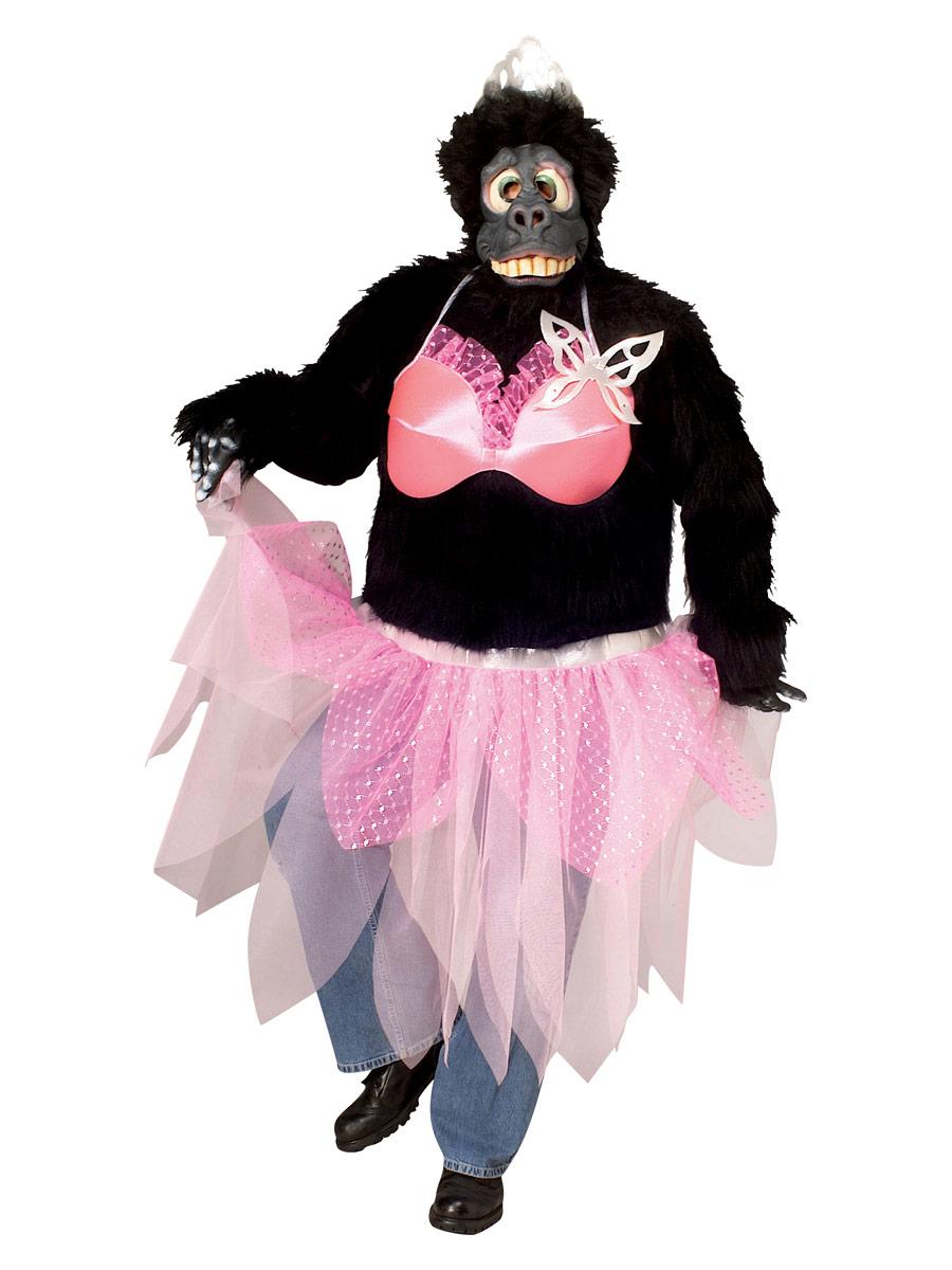 Animaux Costume Adulte Prima Ballerina Gorilla