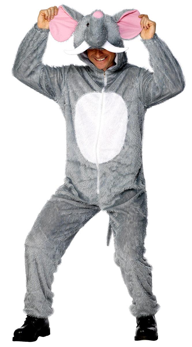 Animaux Costume Adulte Costume d'éléphant