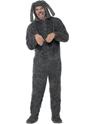 Animaux Costume Adulte Chien moelleux Onesie Costume