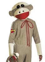 Costume de singe chaussette Animaux Costume Adulte