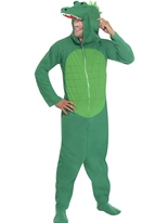 Crocodile Onesie Costume Animaux Costume Adulte