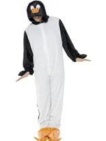 Pingouin Jumpsuit Animaux Costume Adulte
