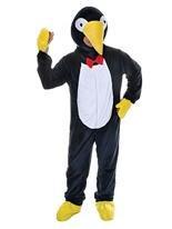 Costume de pingouin de grosse tête Animaux Costume Adulte