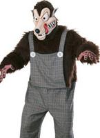 Costume de Wolfie de mauvaises nouvelles Animaux Costume Adulte