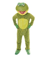 Costume de grenouille grosse tête Animaux Costume Adulte