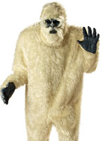 Costume de l'abominable homme des neiges Animaux Costume Adulte