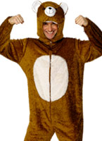 Costume d'ours Animaux Costume Adulte