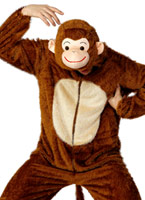 Costume de singe Animaux Costume Adulte