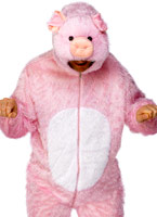 Costume de cochon Animaux Costume Adulte