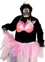 Prima Ballerina Gorilla Animaux Costume Adulte