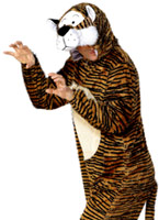 Costume de tigre Animaux Costume Adulte