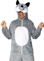 Costume de loup Animaux Costume Adulte