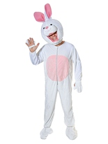 Grosse tête lapin Costume Animaux Costume Adulte