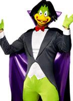 Costume Duckula comte Animaux Costume Adulte