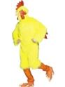 Animaux Costume Adulte Costume de poulet jaune de fourrure