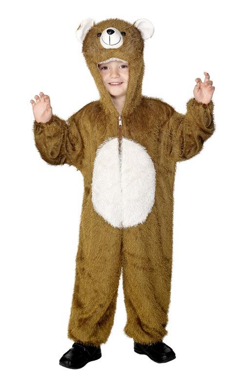 Animaux Costume Enfant Costume d'ours en peluche pour enfants
