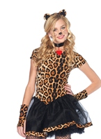 Teen méchants Costume Wildcat Animaux Costume Enfant
