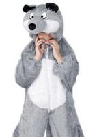 Costume de loup pour enfants Animaux Costume Enfant
