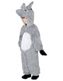 Animaux Costume Enfant Costume peluche âne gris velours