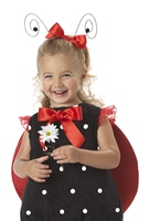 Lil' Lady Bug Costume Animaux Costume Enfant
