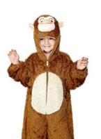 Costume de singe en peluche pour enfants Animaux Costume Enfant
