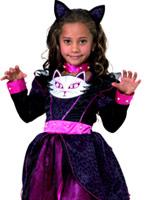 Costume de princesse de chat pour enfants Animaux Costume Enfant